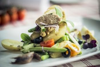 Ganymed Brasserie - Küche