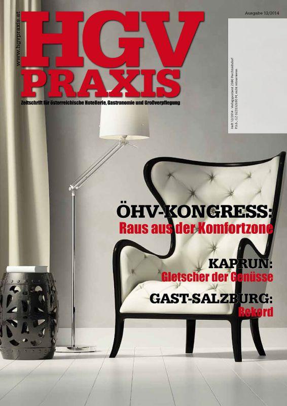 HGV Praxis - Zeitschrift für Gastronomie, Hotellerie Ausgabe 12 2014